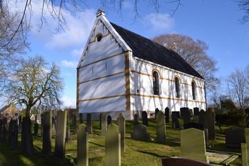 Kerkje in Friesland