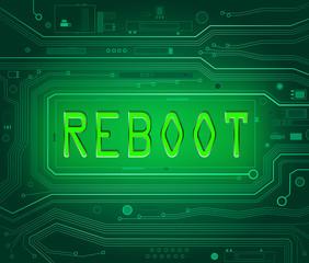 Reboot concept.