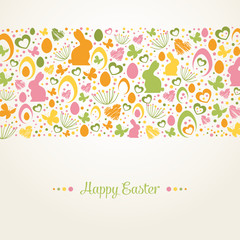 "Vintage ""Happy Easter"" Card"