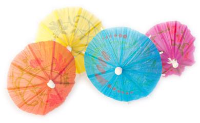 mini ombrelles décoratives pour cocktails