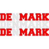 Denmark Danmark Flag Logo poster