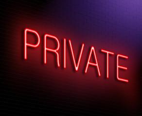 Private concept.