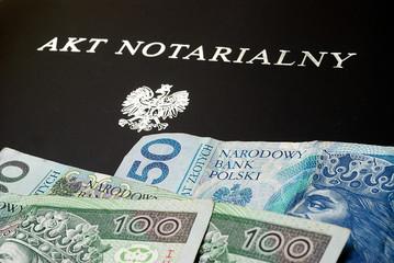 akt notarialny