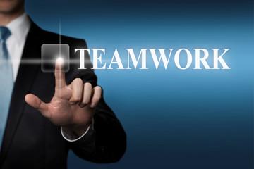 touchscreen - teamwork