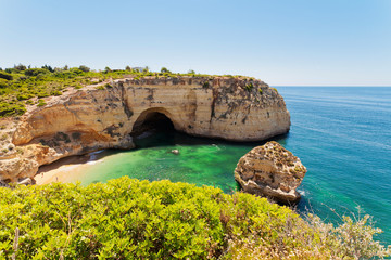 Grotte in der Algarve Portugal