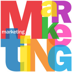 MARKETING Letter Collage (advertising publicity prices products)