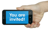 you are invited! Phone