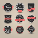 Badges collection. Vector