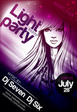 Fototapety Party poster. Vector