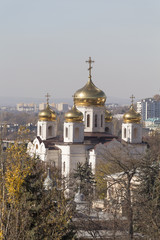 Christ the Savior Cathedral. Pyatigorsk. Russia