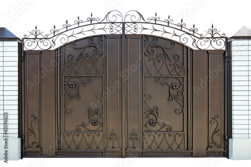 Forged  decorative  gates.