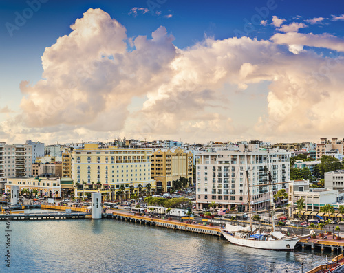 San Juan, Puerto Rico Cityscape