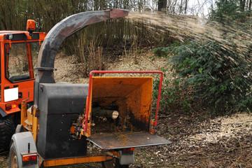 Holzschredder