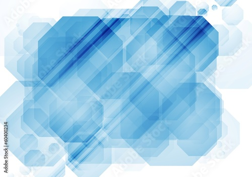 Abstract bright tech vector design