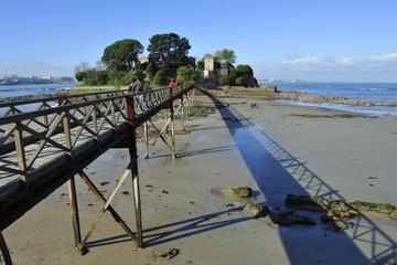 Santa Cruz island, Oleiros, Rias Altas, A Coruna, Spain