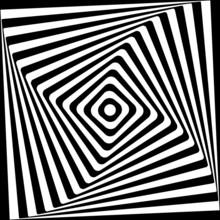 Spirala streszczenie Plac wzór czarno-białe tło.