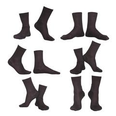 collage of socks