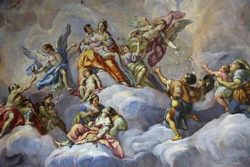Kuppel-Fresko Karlskirche Wien