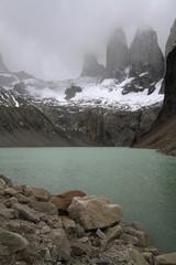 Torres del Paine et lac
