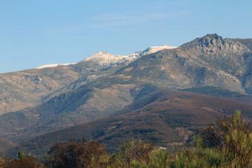 Montañas nevadas, Hervás, Cáceres, España