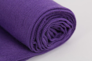 Purple scarf/Purple scarf isolated