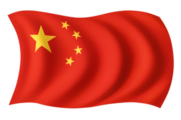 China flag - Chinese flag