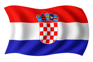 Croatia flag - Croat flag