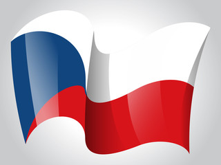 Czech Republic flag - Czech flag