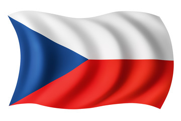 Czech Republic flag - Czech flag