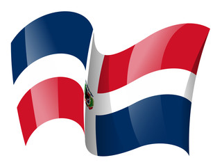 Dominican flag - Dominican Republic flag