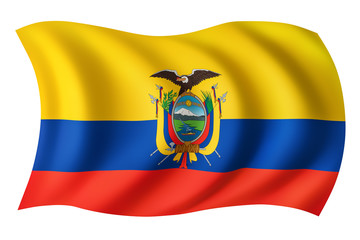 Ecuador flag - Ecuadorian flag