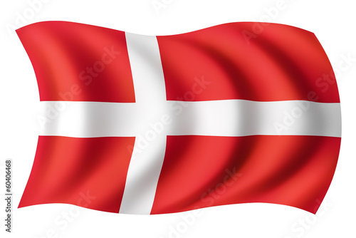 Denmark flag - Danish flag