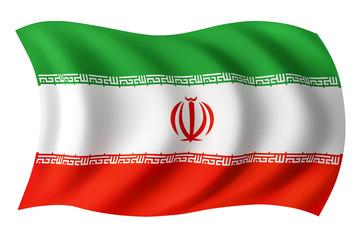 Iran flag - Iranian flag