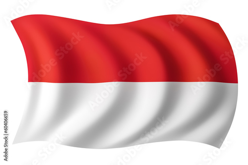 Indonesia flag - Indonesian flag