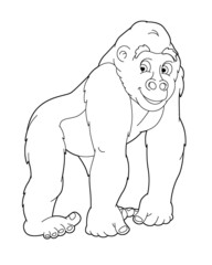 Coloring page - animal - illustration for the children
