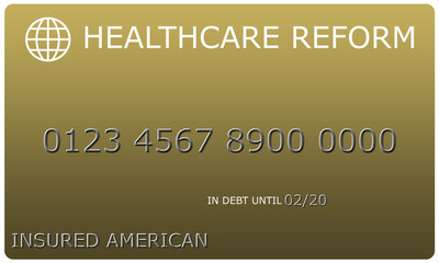 Healthcare Reform Platinum gold Credit Card