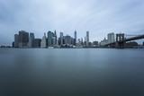 Manhattan Skyline with Brooklyn Bridge, New York City - 60408614