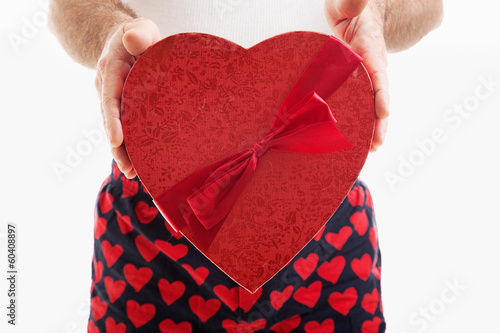 Valentine Candy Heart Gift