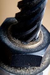 Close up screw