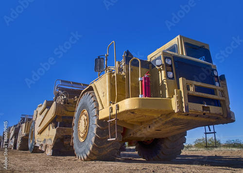 Heavy transport Industrial earth moving equipment
