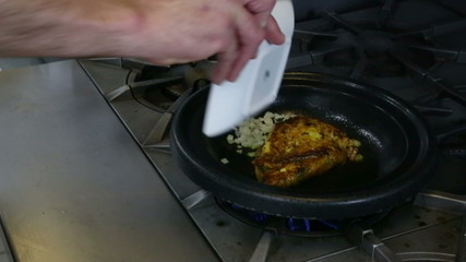 Cooking Seasoned Chicken