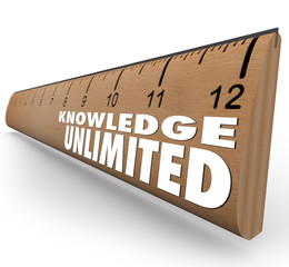 Knowledge Unlimited Ruler High Intelligence Education