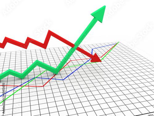 inflation and deflation graph