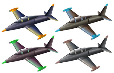 A group of fighter jets