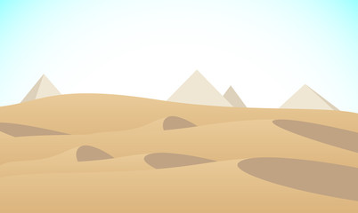 砂漠 ピラミッド