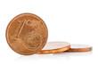Bronze Euro Cent coins
