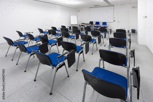 modern class or meeting corporate room
