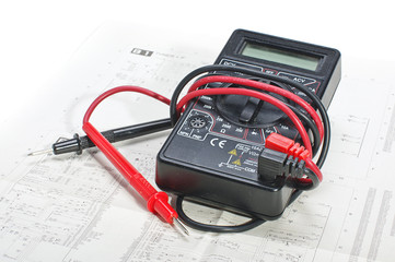Multimeter and electronic schematics