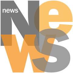"""NEWS"" Letter Collage (live breaking headlines rss feed media)"
