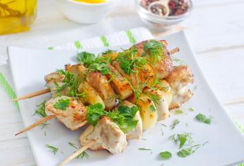 fresh kebab